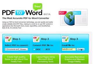 online pdf2word converter