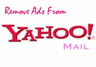 remove yahoo mail ads