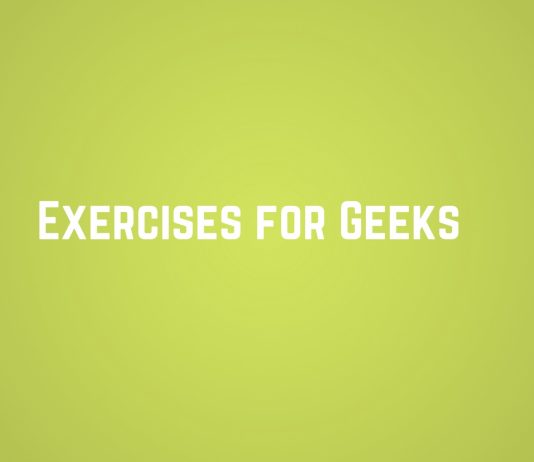 Exercises for geeks