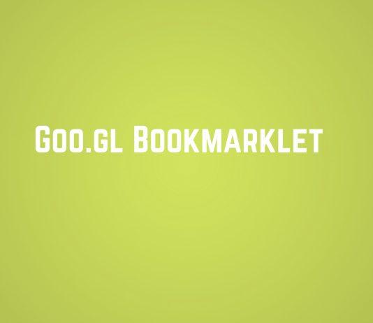goo.gl bookmarklet