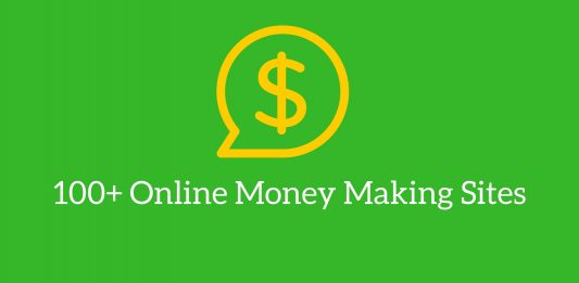 Online money making sites
