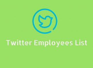 Twitter employees list