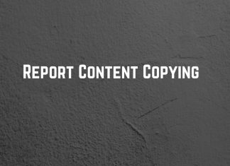 Report content copying