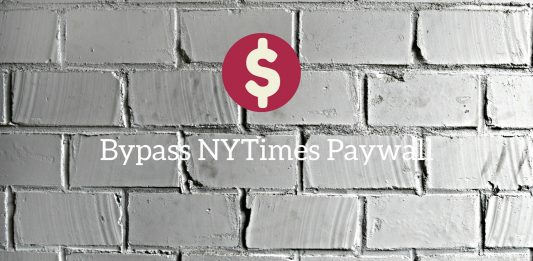 Bypass NYtimes payment