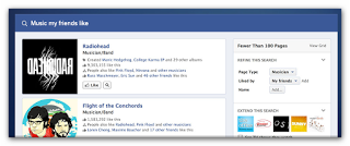 Facebook Graph Search For Music