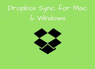 Dropbox sync
